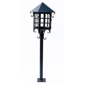 Euro iluminaci n lamparas y faroles de fierro forjado for Faroles solares para jardin